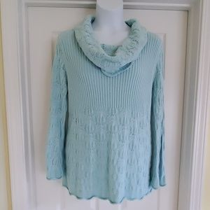 Style & Co Women Cowl-Neck 2X Gently loved